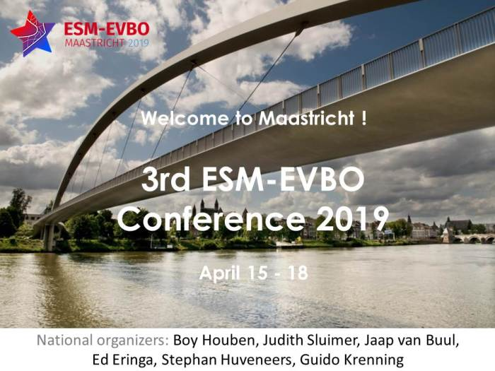 ESM-EVBO 2019 save new date